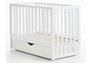 Детская кроватка Соня ЛД13 цвет белый маятник с ящиком - Фото №3