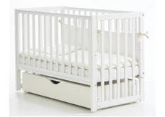 Детская кроватка Соня ЛД-13 цвет белый