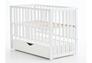 Детская кроватка Соня ЛД13 цвет белый маятник с ящиком - Фото №2