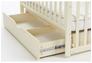 Детская кроватка Соня ЛД13 слоновая кость маятник с ящиком - Фото №4