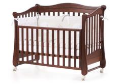 Детская кроватка Соня ЛД-19 цвет орех