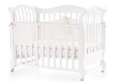 Детская кроватка Соня ЛД-19 цвет белый