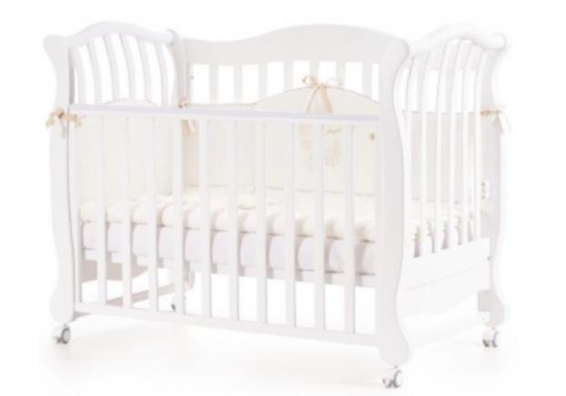 Детская кроватка Соня ЛД-19 цвет белый - Фото №1