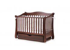Детская кроватка Соня ЛД-18 цвет орех