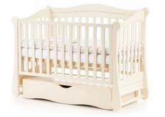 Детская кроватка Соня ЛД-18 цвет слоновая кость