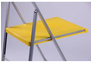 Стул Ибица алюм пластик желтый - Фото №3