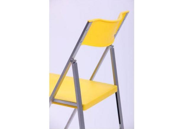 Стул Ибица алюм пластик желтый - Фото №2