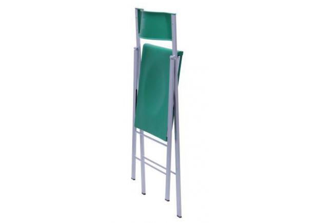 Стул Ибица алюм пластик зеленый RAL 6018 - Фото №2