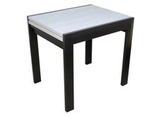 Стол кухонный раскладной Трембита СК №1  размер 81,5 (163)*67*h76 см
