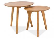 Набор из двух столиков Milan S2 Signal цвет дуб
