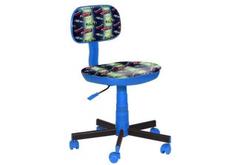 Кресло детское пластик синий