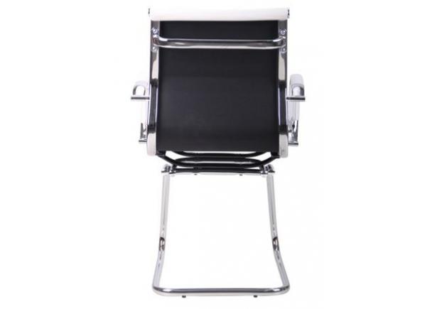 Кресло Slim CF (XH-632C) белый спинка черная - Фото №2