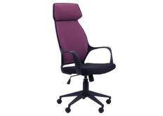 Кресло Concept черный, тк.пурпурный