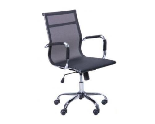 Кресло Slim Net LB (XH-633B) черный - Фото №1