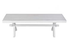 Скамейка Антверпен 140*h50*40 см белый