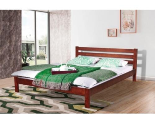 Двухспальная кровать Инсайд 160х200 см каштан - Фото №1
