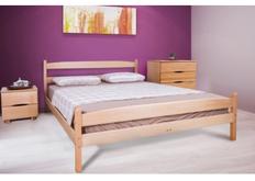 Кровать Ликерия с изножьем 90x200 см светлый орех