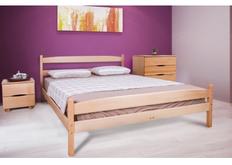 Кровать Ликерия с изножьем 180x200 см светлый орех