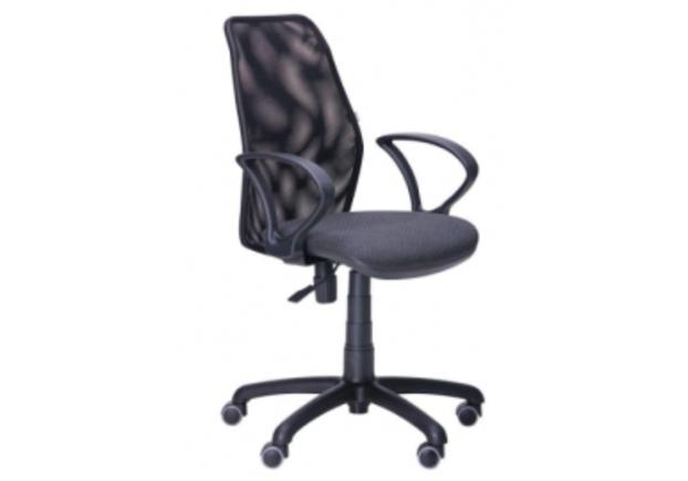 Офисное кресло Oxi/АМФ-4 сиденье Квадро/спинка Сетка - Фото №1