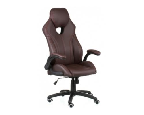 Кресло офисное Special4You Leader brown - Фото №1