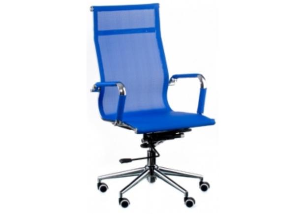 Кресло офисное Special4You Solano mesh blue - Фото №1