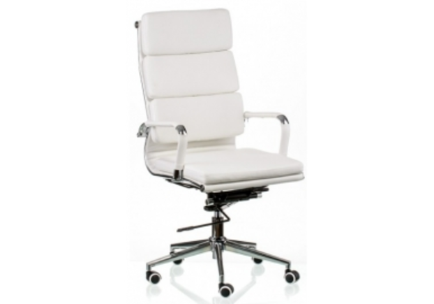 Кресло офисное Special4You Solano 2 artleather white - Фото №1