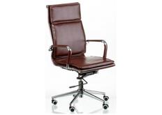 Кресло офисное Special4You Solano 4 artleather brown