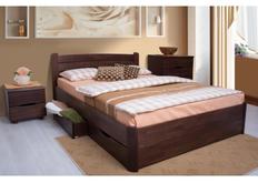 Кровать София с ящиками 160*200 см массив бука