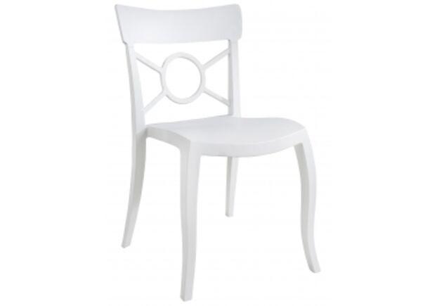 Кресло Papatya Opera-S сиденье белое/верх белый - Фото №1