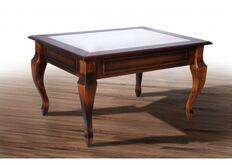 Стол журнальный деревянный  Вега 760*600*470 темный орех