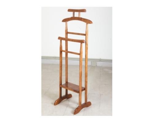 Вешалка деревянная напольная  Альфа светлый орех - Фото №1
