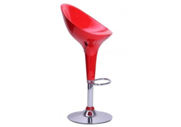 Барный стул Peony красный - Фото №1
