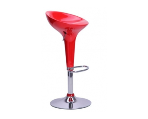 Барный стул Lily Лили красный - Фото №1