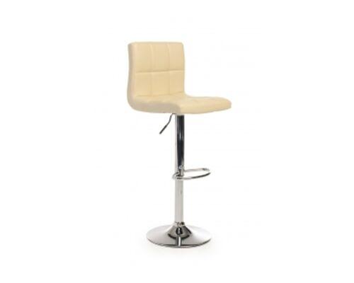 Барный стул B-40 кожзам бежевый /основание металл - Фото №1