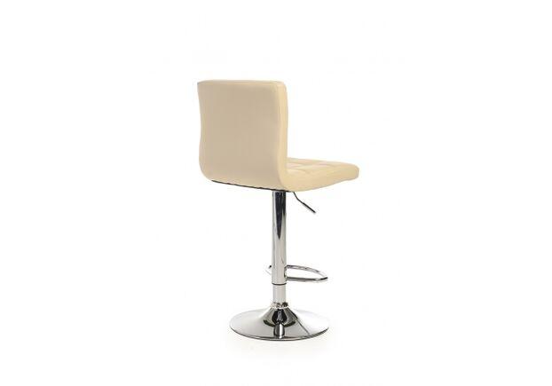 Барный стул B-40 кожзам бежевый /основание металл - Фото №2