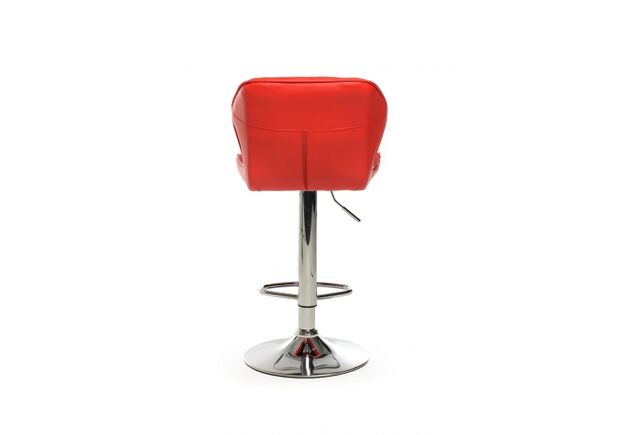 Барный стул B-70 кожзам красный /основание металл - Фото №2