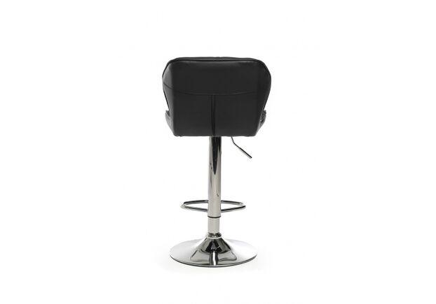 Барный стул B-70 кожзам черный /основание металл - Фото №2