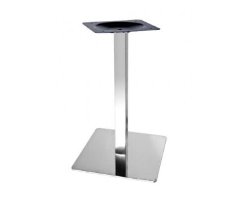 Опора для стола Кама нержавеющая сталь h72 см  - Фото №1