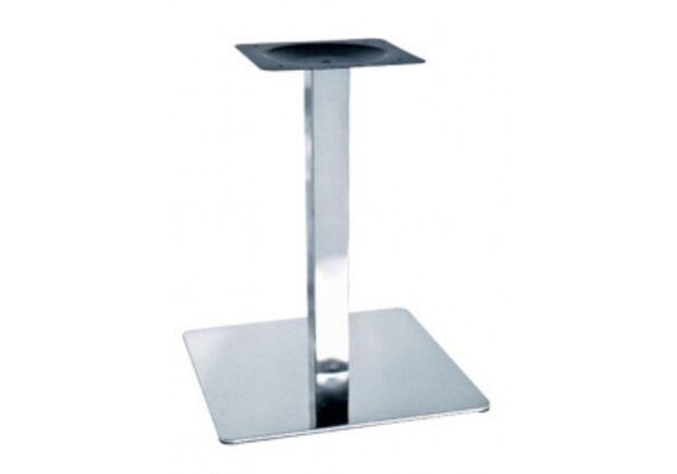 Опора для стола Нил нержавеющая сталь h72 см основание 50 см - Фото №1