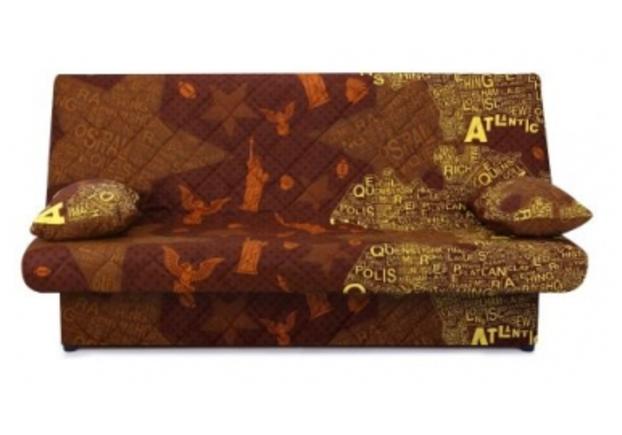Диван Ньюс с двумя подушками ткань State brown - Фото №1