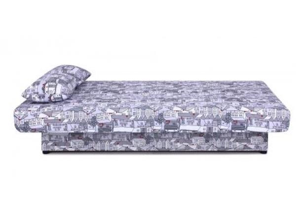 Диван Ньюс с двумя подушками ткань City gray - Фото №2