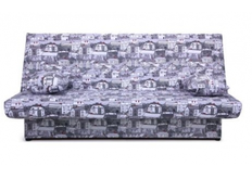Диван Ньюс с двумя подушками ткань City gray