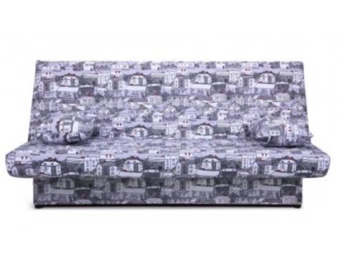 Диван Ньюс с двумя подушками ткань City gray - Фото №1
