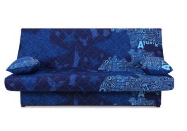 Диван Ньюс с двумя подушками ткань State blue - Фото №1