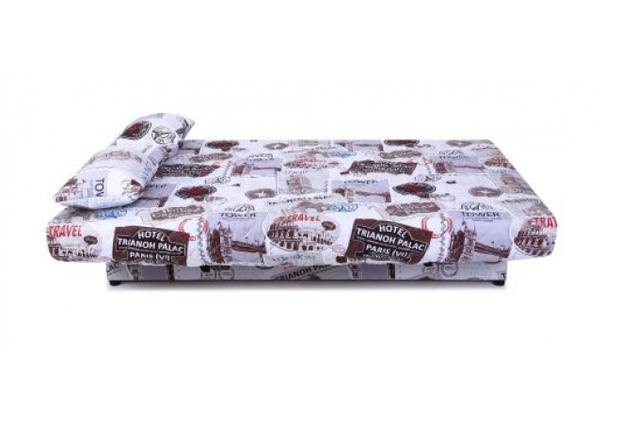 Диван Ньюс с двумя подушками ткань Travel  - Фото №2