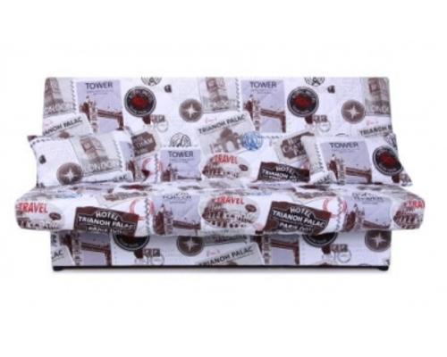 Диван Ньюс с двумя подушками ткань Travel  - Фото №1