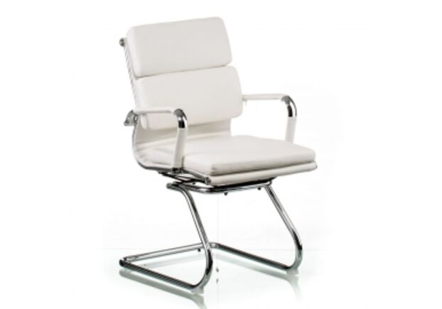 Кресло офисное SPECIAL4YOU Solano 3 conference white - Фото №1