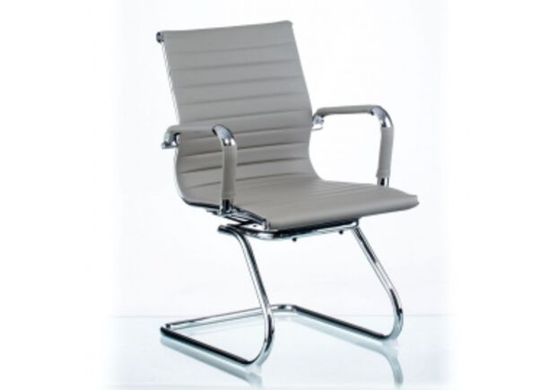 Кресло офисное Special4You Solano office artleather  grey - Фото №1