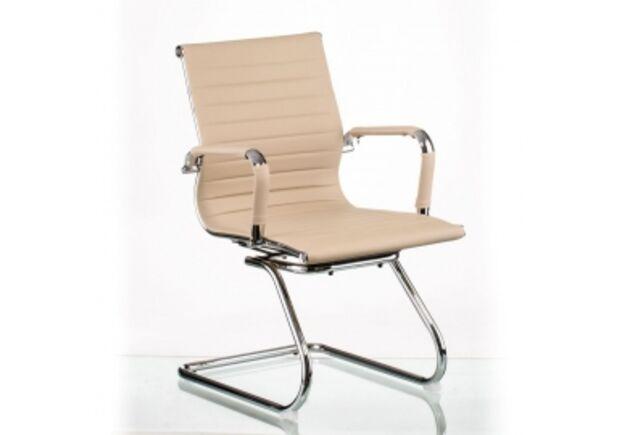 Кресло офисное Special4You Solano office artleather beige - Фото №1