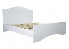 Кровать Анжелика 160х200 см цвет белый с подъемным механизмом
